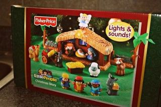 Fisher Price Little People Nativity Set Christmas Story NIB NEW Jesus