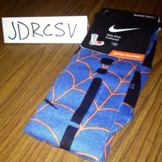 RARE DURANTULA NIKE ELITE SOCKS! NEW! KD IV USA 2012 Gold Medal