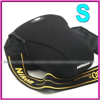 Case bag Pouch for Nikon D5100 D3100 D3000 D60 D40 Digital Camera E1S