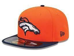 Denver Broncos New Era On Field Sideline Cap 5950 59Fifty Fitted Hat
