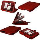 Red Leather Case Cover for Motorola Xoom 2 Droid Xyboard 10.1 Android