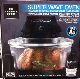 NEW Sharper Image Super Wave Oven Infrared & Convection