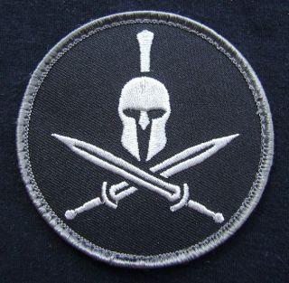 ARMY MORALE TACTICAL US ISAF MILSPEC SWAT BLACK OPS VELCRO PATCH