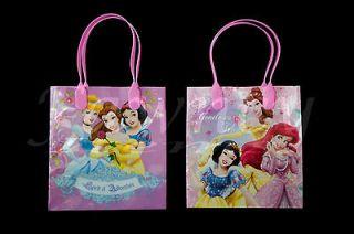 New 12 pcs Disney Princess Favor Loot Goodie Gift Kids Party Bags