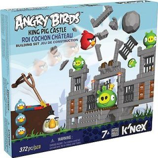 Angry Birds King Pig Castle KNEX Brand New & Factory Sealed 372pcs