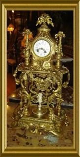 antique french mantle clocks in Collectibles