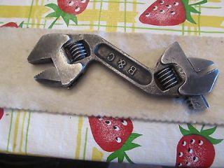 Double End Adjustable Wrench Vintage Antique Tool Shop Auto Farm