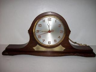 Antique Wooden Gilbert 1807 Mantle Clock Needs TLC