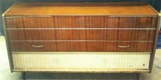 GRUNDIG MAJESTIC Vintage Stereo Console SO190UA1 Tube AM Shortwave w