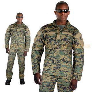 Marines MARPAT Woodland Digital Combat Uniform Shirt