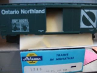 ATHEARN HO SCALE ONTARIO NORTHLAND KIT w/LARGE O EMBEDDED IN N