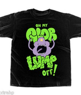 Adventure Time With Finn & Jake LSP Lump Off T Shirt Licensed Adult