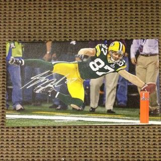 Jordy Nelson Signed Canvas 10x18, Green Bay Packers #1 Receiver, Super