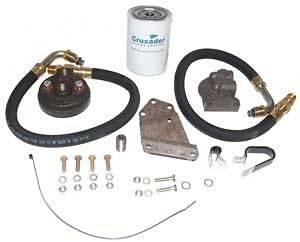 Oil Filter Kit Remote Crusader GM Small Block V8