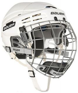 New Bauer 5100 Hockey Helmets w/Cage   White
