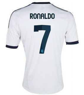 2012/13 Cristiano Ronaldo Real Madrid #7 Home Soccer jersey Size L