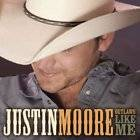 JUSTIN MOORE T SHIRTS Country TOUR DATES 2011 wht1