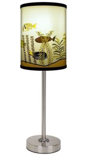 Lamp In A Box Artists Carrie Masters Fish Tank Shade Table Lamp W 3
