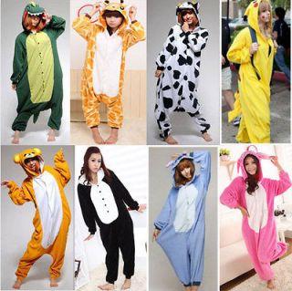 qualityUnisex Kigurumi Animal Pyjamas Hoodie Cosplay Costume Onesies