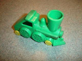Old Vtg Collectible Antique Plastic Toy Train Steam Engine