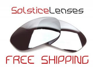 New BLACK Replacement Lenses for Oakley STRAIGHT JACKET 2.0 Sunglasses