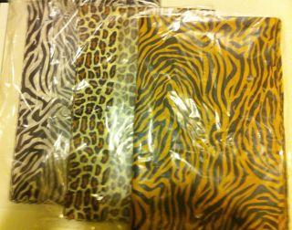ZEBRA LEOPARD TIGER PRINT GIFT TISSUE PAPER 20 X 30 30CT