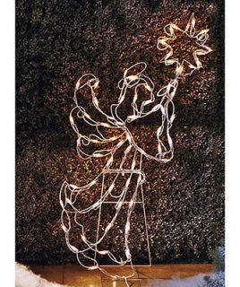 Light 42 Angel Christmas Decoration Lawn outdoor Lighted Yard