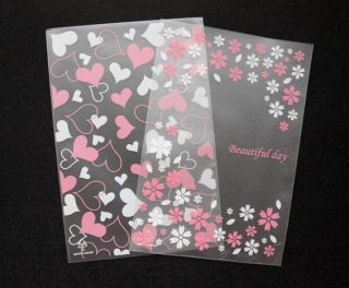 Baking Cookie Gift Wrapping OPP Cellophane Bags Opaque Type 2COLORS