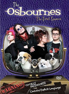 Ozzy Osbourne The Osbournes   The First Season (DVD, 2003, 2 Disc Set)
