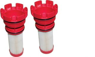 MERCURY OPTIMAX VERADO RED FUEL FILTER 35 8M002034 2 PACK