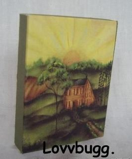 Mini Painting fits American Girl Doll house WIDEST SELECTION AT