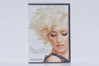 NEW Paul Mitchell THE BLONDING SYSTEM Hair Stylist DVD