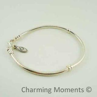 pandora silver bracelet 7.5 in Charms & Charm Bracelets
