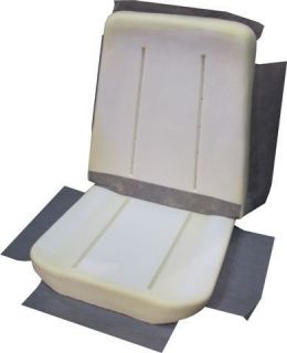 1967 NOVA SS BUCKET SEAT FOAM BUN NEW (Fits Chevrolet Nova)