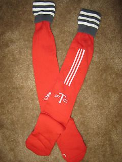 TORONTO FC FOOTBALL CLUB ADIDAS MLS SOCCER FOOTBALL SOCKS RED NEW WITH