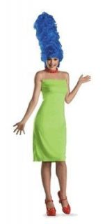 NEW Womens Costume Marge Simpson w Wig Licensed Large 12 14