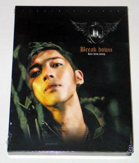 Kim Hyun Joong (SS501)   Break Down (1st Mini Album) CD+Poster