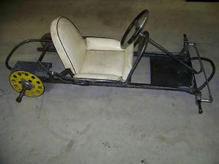 VINTAGE RACING GO KART CHASSIS for PARTS