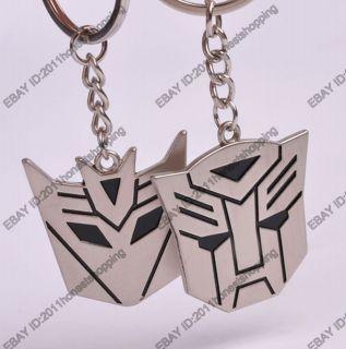 pair Key Ring Chain with Transformers Optimus Prim Bumblebee pretty