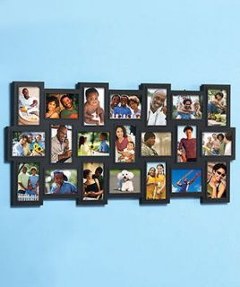 Art Pictures Family Friends + Events 21 Photo Collage Frame 18 x 40