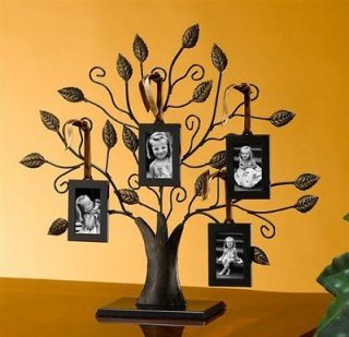 TREE PICTURE FRAME   MEDIUM FAMILY TREE WITH FOUR PICTURE FRAMES