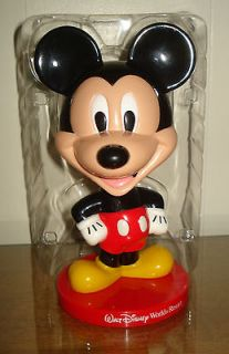 DISNEY MICKEY MOUSE BOBBLE HEAD FIGURINE NODDER BEAUTIFUL PATTERN NR