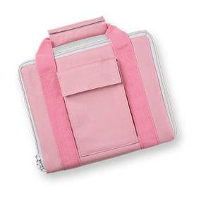 Bulldog PINK Nylon Hard Pistol Case for Medium Semi Auto Handguns