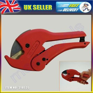 HEAVY DUTY 1 5/8 42mm RATCHET PVC PIPE AND HOSE CUTTER