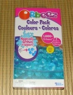 Orbeez Soothing Spa Refills Color Pack Yellow Red Green 1000