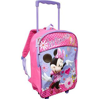 Newly listed Disney Minnie 16 Inch Rolling Backpack   Pink
