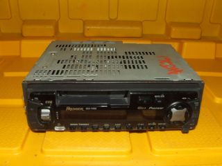 Aftermarket Pioneer Premier Super Tuner III Tape Player Radio KEH P490