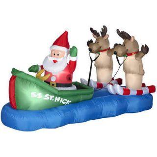 santa reindeer outdoor in Christmas Current (1991 Now)