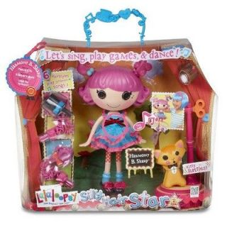 Harmony B. Sharp Silly Hair Star Doll Sing Play Games Dance NIB