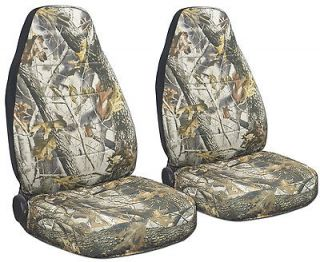 JEEP LIBERTY CAR SEAT COVERS CAMO REAL TREE DESIGN FRONT SET